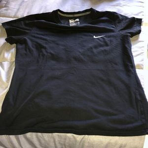 Dri-Fit Nike slim fit black tee